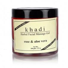 Khadi Natural™ Rose & Alovera Facial Massage Gel