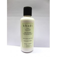 Khadi Natural™ Rose & Honey Moisturizer With Sheabutter
