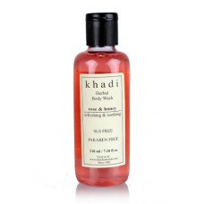 Khadi Natural™ Rose and Honey Body Wash- SLS & Paraben Free