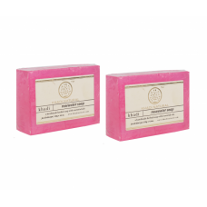 Khadi Natural™ Herbal Rose Water Soap (Set of 2)