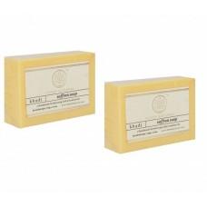 Khadi Natural™ Herbal Saffron Soap(Set of 2)