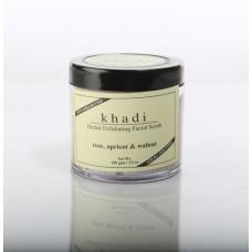 Khadi Natural™ Apricot & Walnut Cream Scrub with Rose -100g