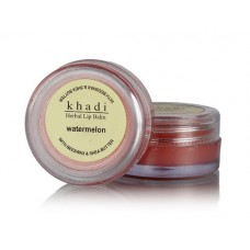 Khadi Natural™ Natural Watermelon Lip Balm- With Beeswax & Shea Butter