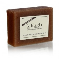 Khadi Natural™ Woody Sandal & Honey Soap